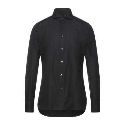 エルメネジルド ゼニア ERMENEGILDO ZEGNA シャツ ブラック 42 コットン 100% シャツ
