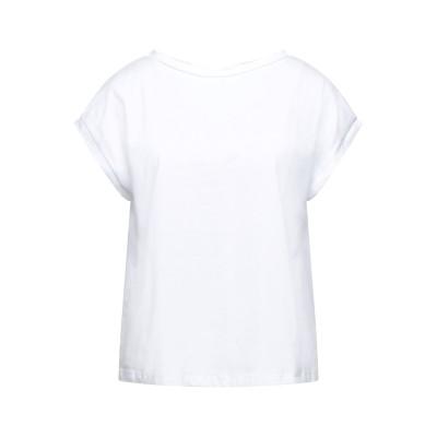CROCHÈ T シャツ ホワイト XS コットン 94% / ポリウレタン 6% T シャツ