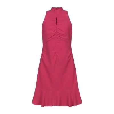 HALSTON チューブドレス ファッション  レディースファッション  ドレス、ブライダル  パーティドレス フューシャ