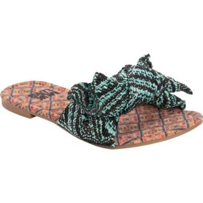 ムクルクス サンダル シューズ レディース Trysta Slide Sandal (Women's) Turquoise Polyester