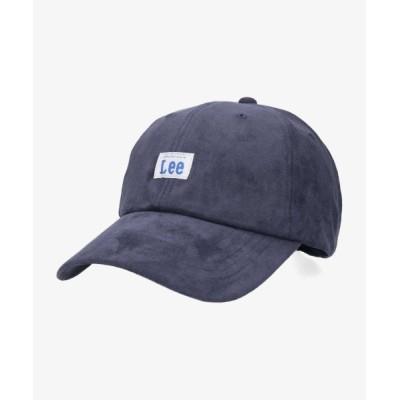 OVERRIDE / 【Lee】LOW CAP POY SUEDE / 【リー】ローキャップ スエード オーバーライド WOMEN 帽子 > キャップ