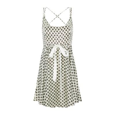 CINQ À SEPT ミニワンピース&ドレス ホワイト S シルク 100% ミニワンピース&ドレス