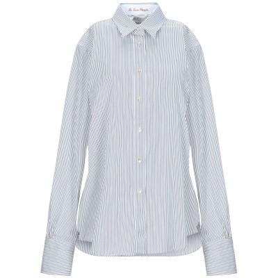 LE SARTE PETTEGOLE シャツ ブラック 44 コットン 70% / ナイロン 27% / ポリウレタン 3% シャツ
