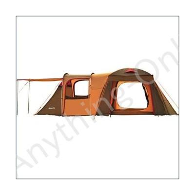 ★新品★Tent Family Camping Quality Tunnel Camping Outdoor to Increase Camping Camp 5-8 People Two-Bedroom One-Bedroom Family (Color : Brown, Size