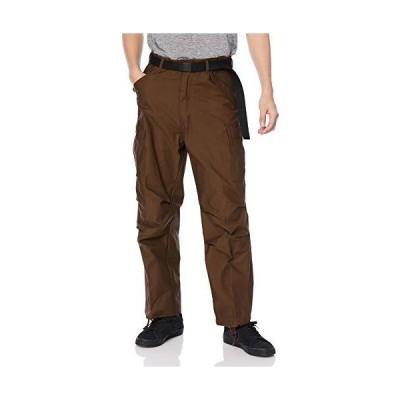 [エフスタイル] カジュアルパンツ 復刻版フィールドパンツ トラウザーベルト付き メンズ ブラウン 標準