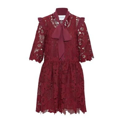 PERSEVERANCE ミニワンピース&ドレス ボルドー 6 ポリエステル 100% ミニワンピース&ドレス