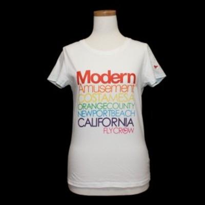 Modern Amusement モダンアミューズメント「M」カラフルロゴ Tシャツ (半袖カットソー ステューシー) 081670【中古】