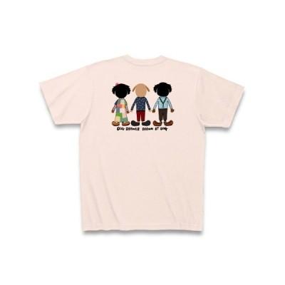 バーニーズ×バーニーズ×ラブラドール Tシャツ(ライトピンク)