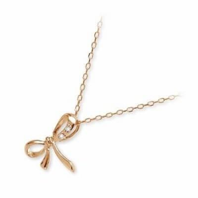 ピンクゴールドネックレス Jアクセサリー レディース 彼女 女性 誕生日プレゼント ギフト