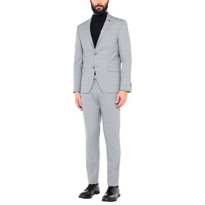 DOMENICO TAGLIENTE スーツ グレー 46 ポリエステル 49% / レーヨン 48% / ポリウレタン 3% スーツ