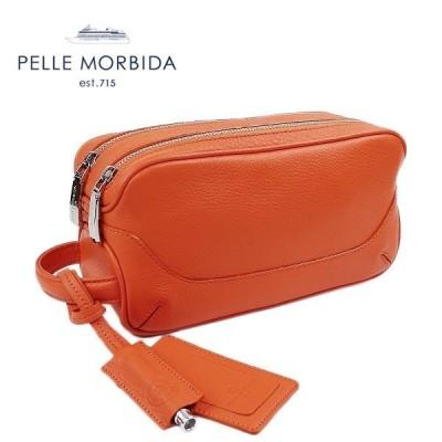 ペッレモルビダ PELLE MORBIDA THIRD BAG サードバッグ PMO-MB028(オレンジ)