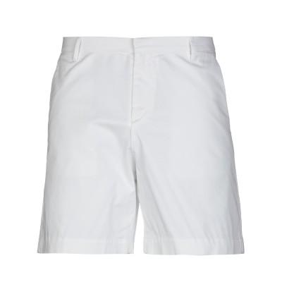 DONVICH バミューダパンツ ホワイト 46 コットン 97% / ポリウレタン 3% バミューダパンツ