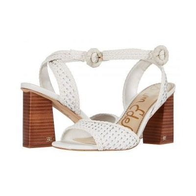 Sam Edelman サムエデルマン レディース 女性用 シューズ 靴 ヒール Danee - Bright White Zebu Woven Leather