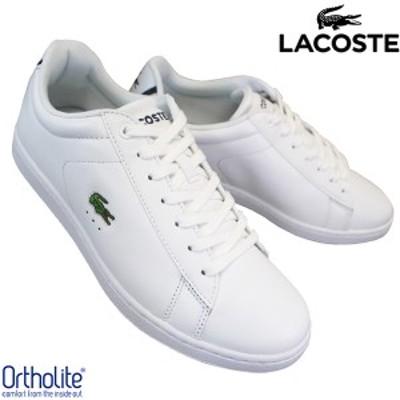 ラコステ LACOSTE CARNABY EVO BL 1 SPM 7-33SPM1002001 ホワイト メンズ ローカットスニーカー カジュアルシューズ 白スニーカー 白靴