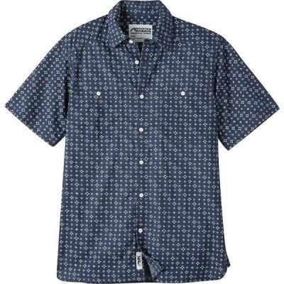 マウンテンカーキス メンズ シャツ トップス Mountain Khakis Men's Ace Indigo SS Shirt