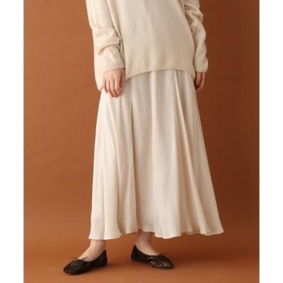 DRESSTERIOR(Ladies)(ドレステリア(レディース))キュプラフィブリルロングスカート