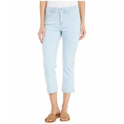 エヌワイディージェイ デニムパンツ ボトムス レディース Chloe Capri Jeans with Raw Cuffs in Valhalla Valhalla
