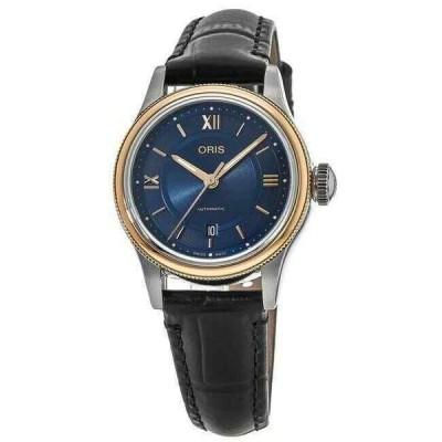 オリス 腕時計 New Oris Classic クラシック Date Blue Dial レディース Watch 01 561 7718 4375-07 5 14 35