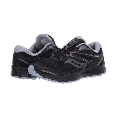 Saucony サッカニー レディース 女性用 シューズ 靴 スニーカー 運動靴 Versafoam Cohesion TR13 - Black/Grey/Light Blue