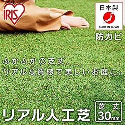 アイリスオーヤマ リアル 人工芝 国産 11 ロールタイプ 芝丈 3cm リアル人工芝 IP-3011 スタンダード