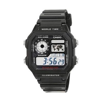 腕時計 カシオ メンズ AE-1200WH-1AVEF Casio Collection Men's Watch AE-1200WH-1AVEF