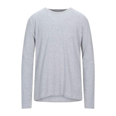 ビッケンバーグ BIKKEMBERGS T シャツ グレー 3XL コットン 96% / ポリウレタン 4% T シャツ