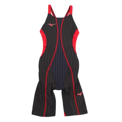 MIZUNOスイム・競泳水着 FINA承認 FX SONICハーフスーツ N2MG823096ブラック×レッド