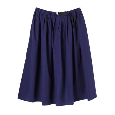 <WEB限定サイズ17号>・ベルト付きカラースカート