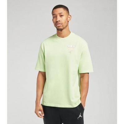 ナイキ ジョーダン Jordan メンズ Tシャツ トップス MJ Wash GFX Crew Short Sleeve Tee Ghost Green/Steam
