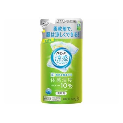 ハミング涼感テクノロジー スプラッシュグリーンの香り 詰替 400ml KAO