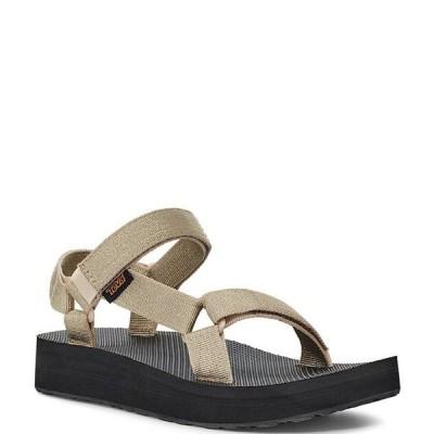 テバ レディース サンダル シューズ Women's Midform Universal Metallic Sandals