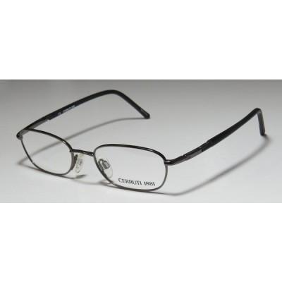 眼鏡フレーム Cerruti CERRUTI 1881 C1226 47-18-135 フルリム オプティカル ユニセックス アイグラス フレーム/レンズ gunmetal / black