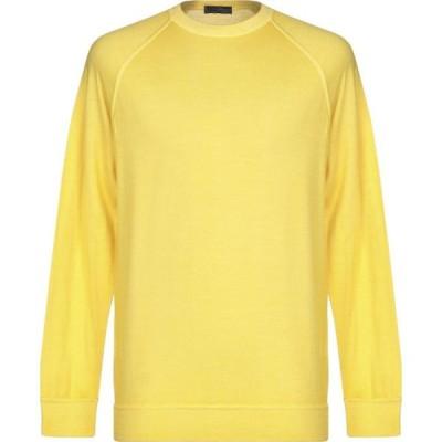 ドルモア DRUMOHR メンズ ニット・セーター トップス sweater Light yellow