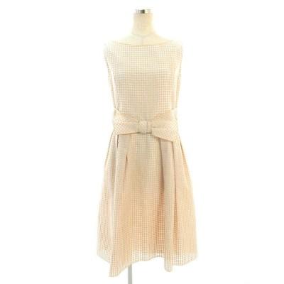 フォクシーブティック ワンピース 36920 Dress ノースリーブ 40