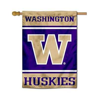 ワシントンUW Huskies 28  x 40  Two Sided House Flag