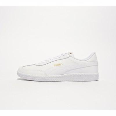 プーマ Puma メンズ スニーカー シューズ・靴 astro cup leather trainer White/White