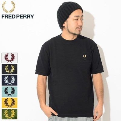 フレッドペリー Tシャツ 半袖 FRED PERRY メンズ ピケ ポケット 日本企画 (F1792 F1674 Pique Pocket S/S Tee JAPAN LIMITED カットソー)