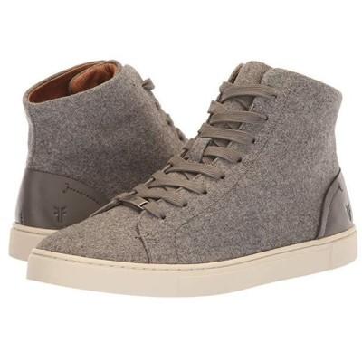 フライ Frye Ivy High Top レディース スニーカー シューズ 靴 Grey Wool/Waxed Pull-Up