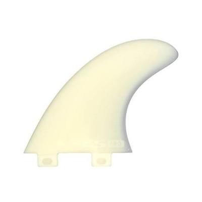 サーフィン フィン マリンスポーツ 1166-165-00-R FCS M3 Natural Glass Flex Tri Set of Fin Small S