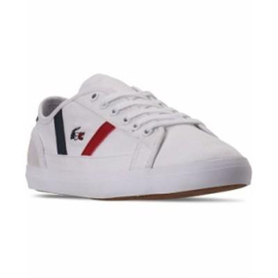 ラコステ レディース スニーカー シューズ Women's Sideline Casual Sneakers from Finish Line White