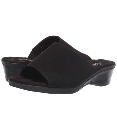 ウォーキング クレードル Walking Cradles レディース ヒール シューズ・靴 Kerry Black Micro/Black Patent