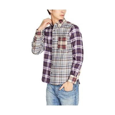 (マックレガー) McGREGOR ペルヴィアン 三つ杢 チェック & ストライプ シャツ その他11 Lサイズ