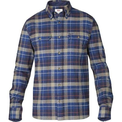 フェールラーベン メンズ シャツ トップス Fjallraven Men's Singi Heavy Flannel Shirt