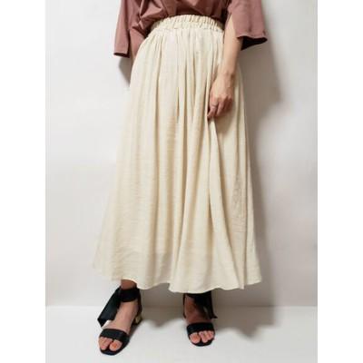・RAY CASSIN スラブギャザースカート