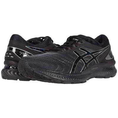 アシックス GEL-Nimbus 22 メンズ スニーカー 靴 シューズ Black/Black
