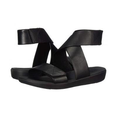 FitFlop フィットフロップ レディース 女性用 シューズ 靴 サンダル Carin Back-Strap Sandal - All Black