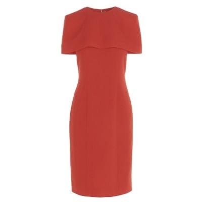 ジバンシー レディース ワンピース トップス Givenchy Removable Cape Fitted Dress -