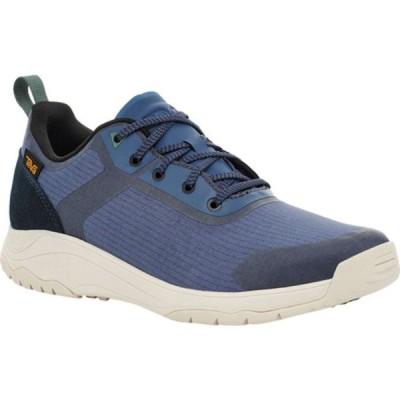 テバ ブーツ&レインブーツ シューズ メンズ Gateway Low Hiking Sneaker (Men's) Blue Indigo Textile/Leather