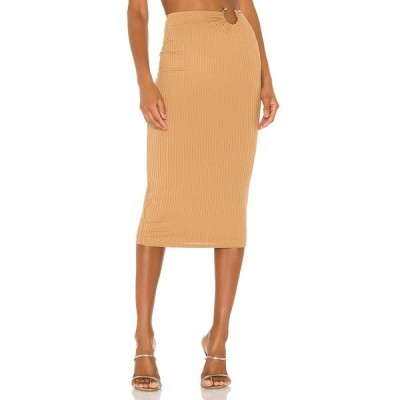 カミラ コエーリョ Camila Coelho レディース ひざ丈スカート スカート Babi Midi Skirt Nude