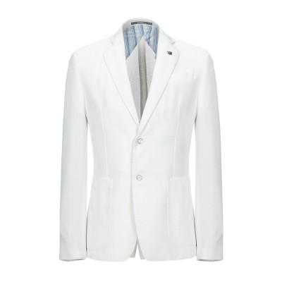 HAVANA & CO. テーラードジャケット ホワイト 48 ポリエステル 95% / ポリウレタン 5% テーラードジャケット